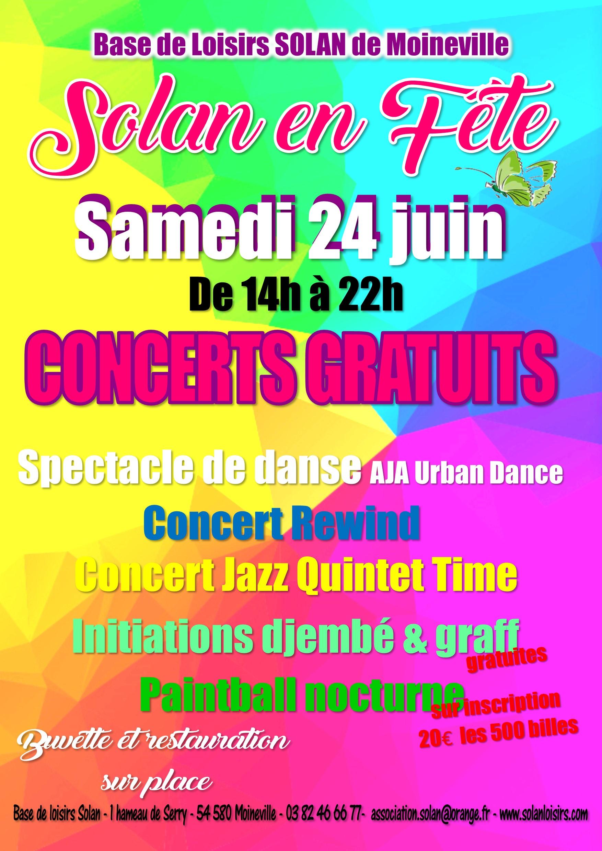 SAMEDI 24 JUIN  : Fête de la Musique et tournois gratuits !
