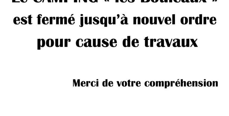 """CAMPING """"LES BOULEAUX"""""""