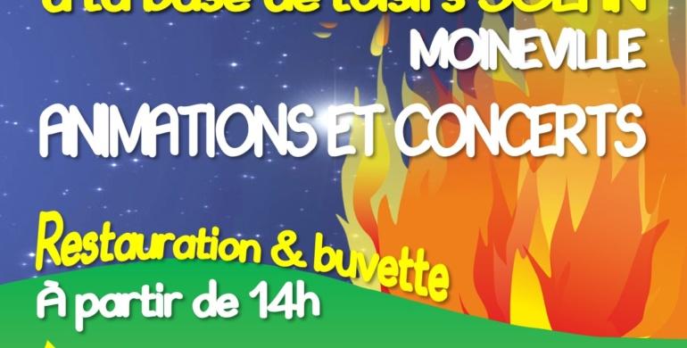 Feu de la Saint Jean – Concerts gratuits
